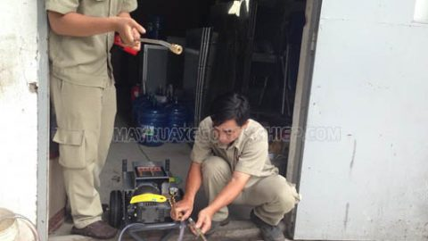 Cách sửa lỗi máy rửa xe cao áp bị rung khi hoạt động