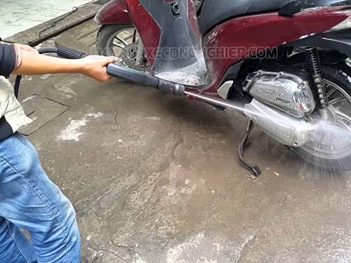 Có nhiều nguyên nhân khiến áp suất máy rửa xe giảm