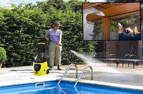 Máy rửa xe gia đình được người tiêu dùng rất ưa chuộng hiện nay