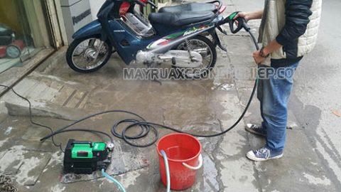 Tuyệt chiêu hô biến ý tưởng kinh doanh rửa xe máy thành sự thật