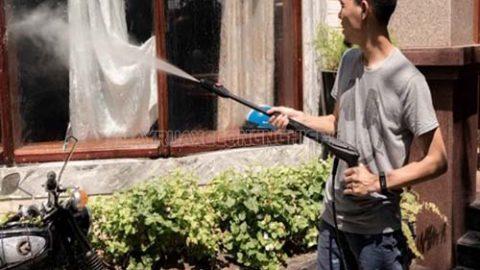 Lợi ích mà máy rửa xe cao áp mang lại trong cuộc sống