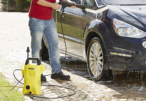 Máy rửa xe Karcher K2 Basic là lựa chọn lý tưởng cho các gia đình