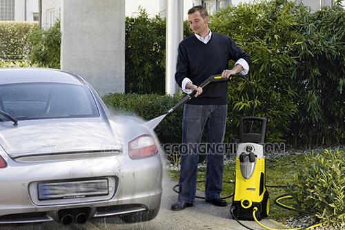 Máy rửa xe motor từ có hiệu năng tốt, độ bền cao