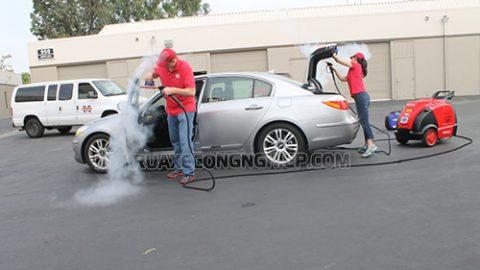 Một số dòng máy rửa xe công nghệ cao siêu sạch trên thị trường hiện nay