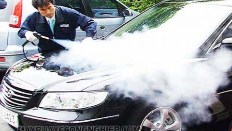 Lưu ý khi sử dụng máy rửa xe hơi nước nóng để đảm bảo an toàn, hiệu quả