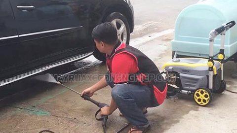 Hướng dẫn sử dụng máy rửa xe cao áp cho người mới học