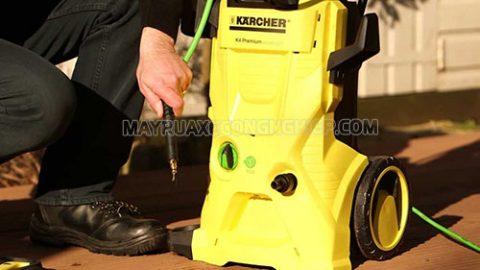 Sửa chữa máy rửa xe Karcher như thế nào là đúng cách?