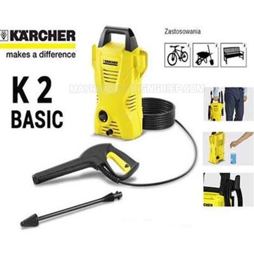 Máy rửa xe Karcher K2 Basic