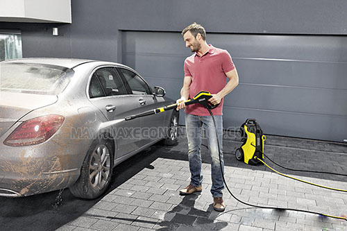 Máy rửa xe gia đình mini có mức giá rẻ nhất trong các dòng máy rửa xe hiện nay