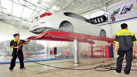 Dịch vụ rửa xe ô tô chuyên nghiệp phải đáp ứng tiêu chí gì?