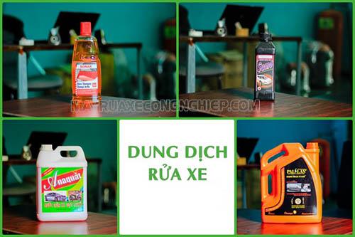 Nước rửa xe máy chuyên dụng mang lại hiệu quả làm sạch xe cao, đảm bảo độ bền đẹp của xe