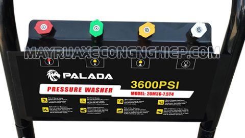 Mặt trước máy rửa xe Palada 20M36-7.5T4