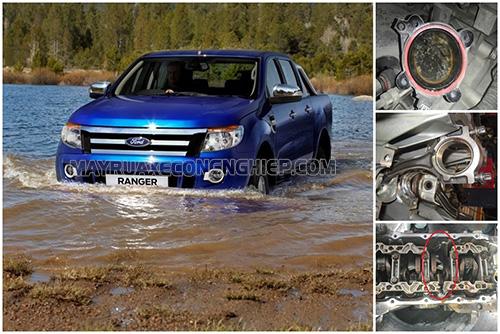 Hiện tượng xe ô tô bị ngập nước