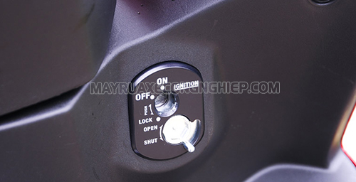 Khóa cổ, đóng nắp từ là điều cần thiết khi sử dụng xe