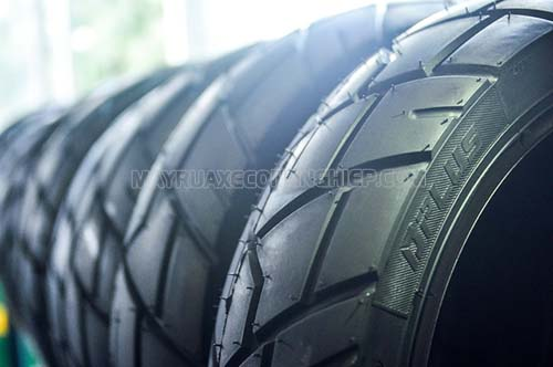 Lốp không săm ngày càng dự sử dụng nhiều trên thị trường