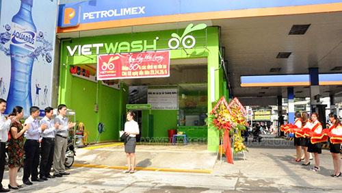 Khai trương cửa hàng rửa xe tự động Vietwash
