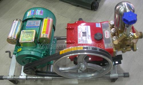 Máy rửa xe cao áp Đài Loan được sử dụng phổ biến hiện nay