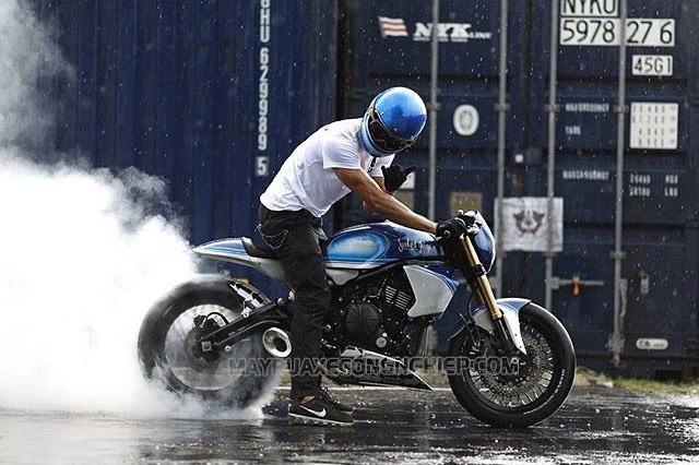 Chạy roda xe máy