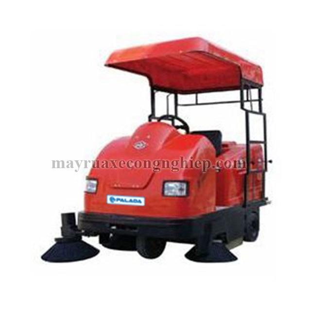 Xe quét đường hút bụi Palada có tính động cơ máy cao