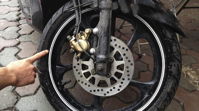 Cân vành xe máy