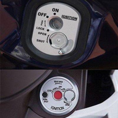 Cần lưu ý đậy nắp từ vào khi khóa xe