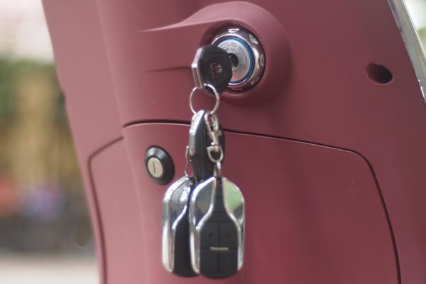 Không treo quá nhiều chìa lại với nhau