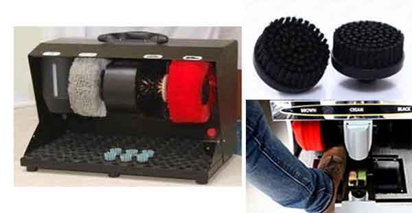 Máy đánh giày được sử dụng rộng rãi