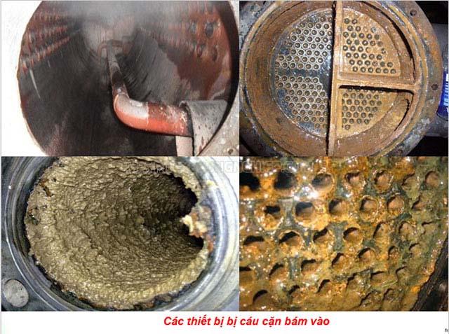 Tháp giải nhiệt nước lâu ngày không vệ sinh