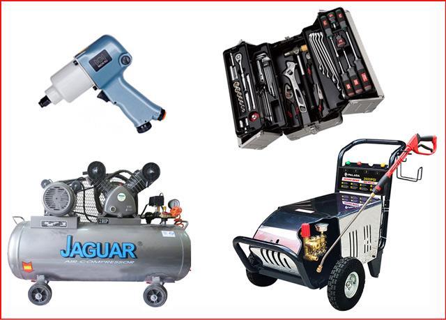 Những thiết bị không thể thiếu trong cửa hàng sửa chữa xe