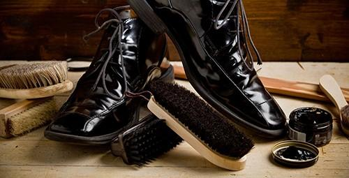 Xi và bàn chải đánh giày