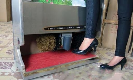 Cách thức hoạt động của máy đánh giày tự động