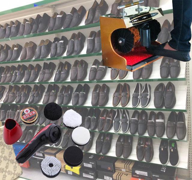 Máy đánh giày tự động thông minh