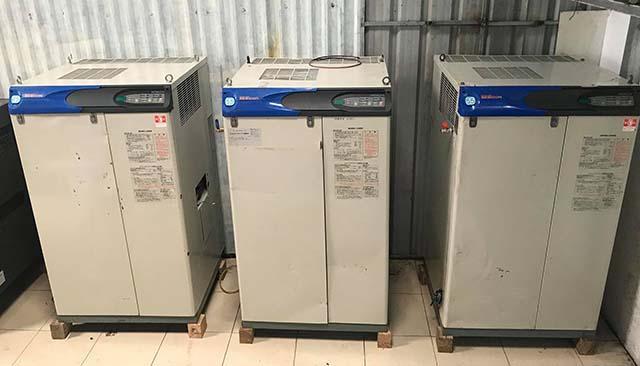 Nhiều sản phẩm máy nén không khí cũ có chất lượng như mới