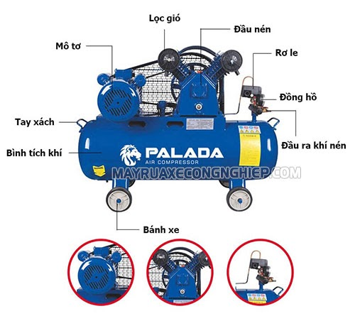máy nén khí tiếng Anh là gì