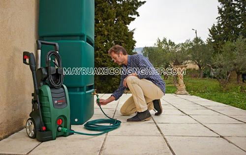 máy rửa xe gia đình không hút nước