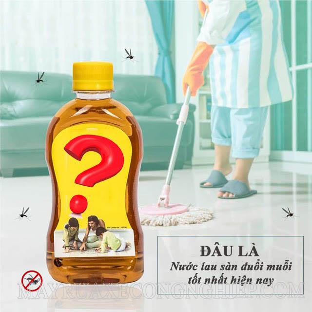 Nước lau sàn đuổi muỗi hiệu quả nhất hiện nay